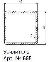 655R АРМИРУЮЩИЙ ПРОФИЛЬ 40х40х2,0ММ 6М