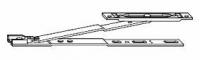 NT  494389 Фрамужные ножницы на створку с пазом