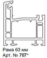 907-ЕЕ РАМА 63ММ, БЕЛАЯ, ЭНЖИН (845 М.П.)