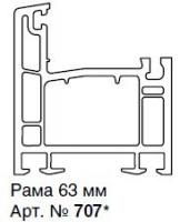 907-ЕЕ (ЛП) РАМА 63ММ, БЕЛАЯ, ЭНЖИН (845 М.П.)